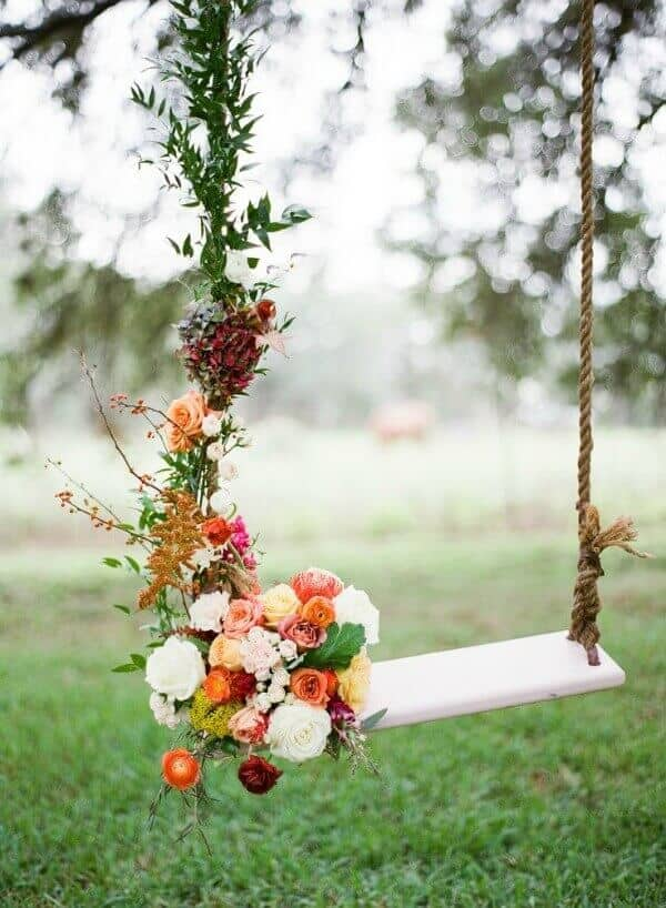 Enchanted Garden - There is a full world of wedding theme ideas to adapt to your needs and taste. Here are 51 unique wedding theme detail ideas for getting married in style! For more wonderful ideas, check http://glamshelf.com !