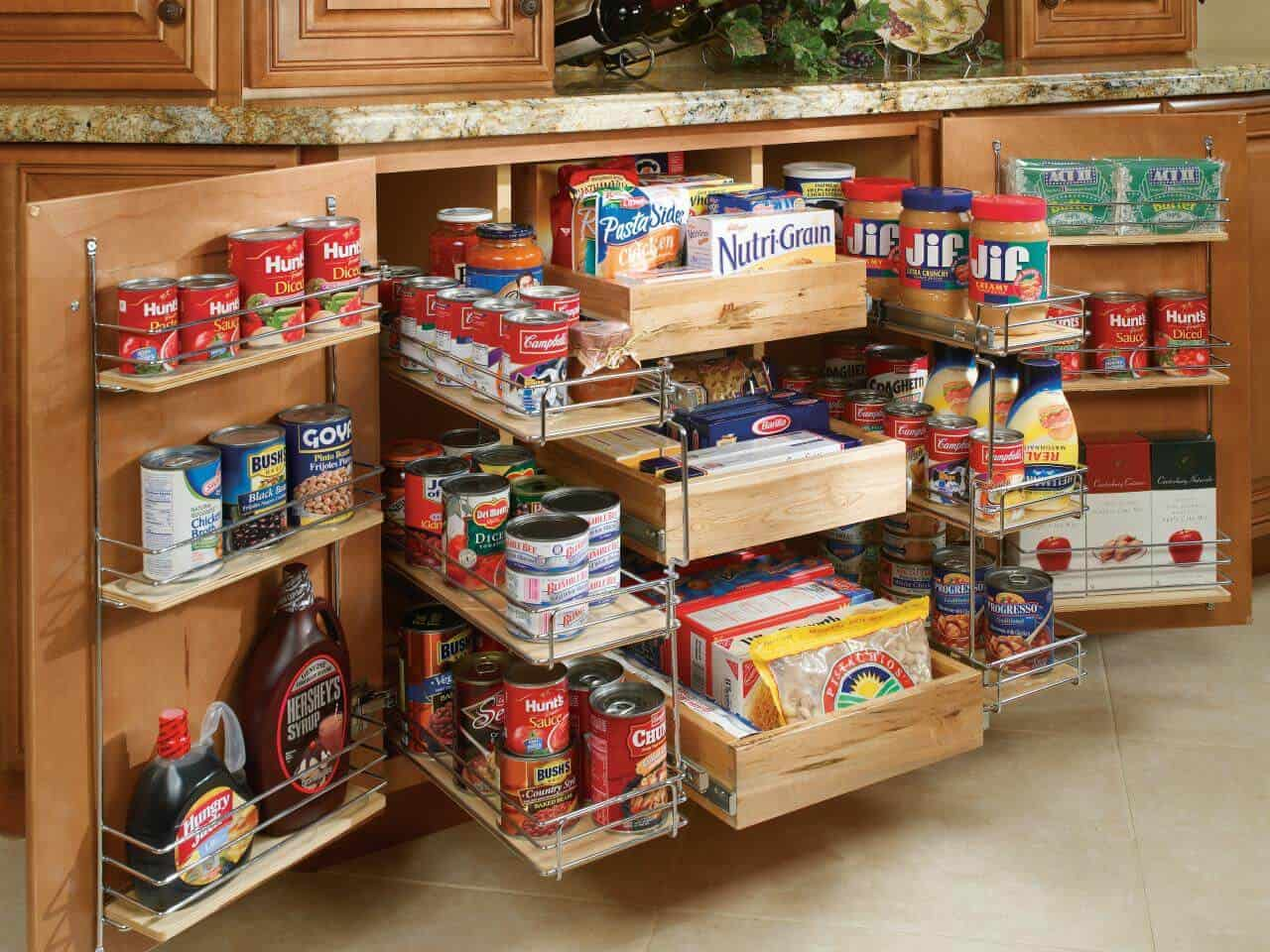 41 Useful Kitchen Cabinets Storage Ideas