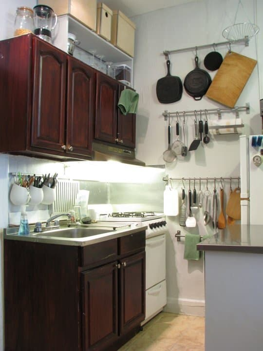 47 diy kitchen ideas for small spaces for you to get the for Kitchen designs for small spaces