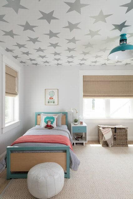 Decorative ceiling wallpaper is a great way to take your decor skills to the next level.